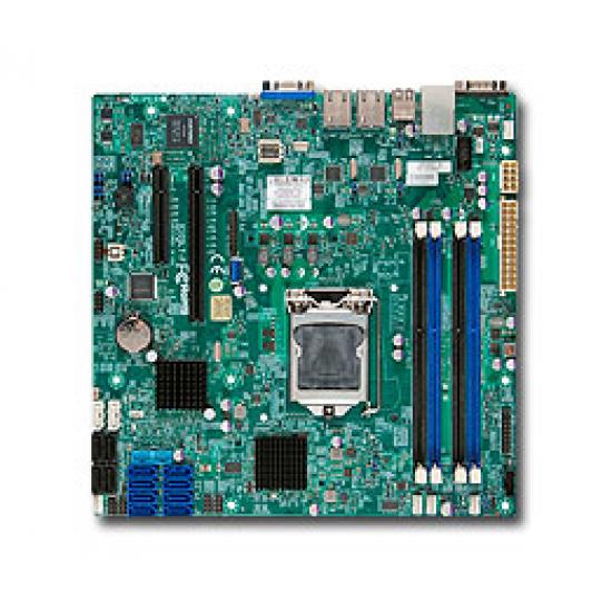 Supermicro X10SL7-F Intel C222 Express LGA 1150 (Socket H3) micro ATX