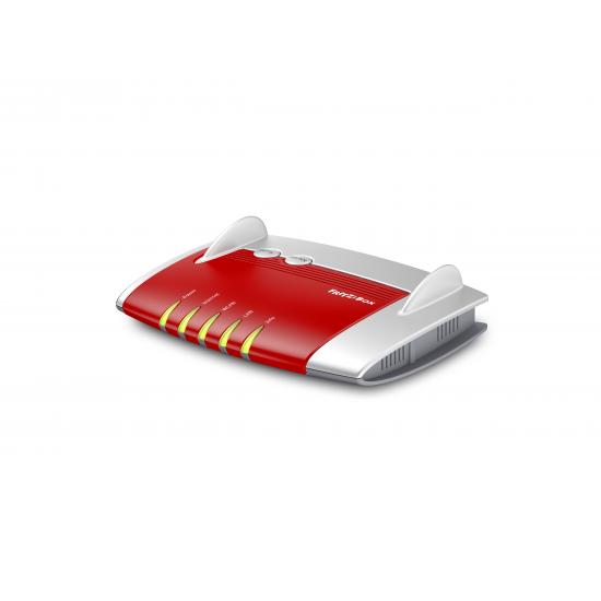 AVM FRITZ!Box 4020 WLAN-Router Einzelband (2,4GHz) Schnelles Ethernet 3G 4G Rot, Weiß
