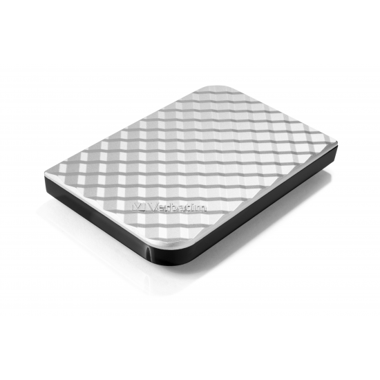 Verbatim Portables Festplattenlaufwerk Store 'n' Go USB 3.0, 1 TB, Silber