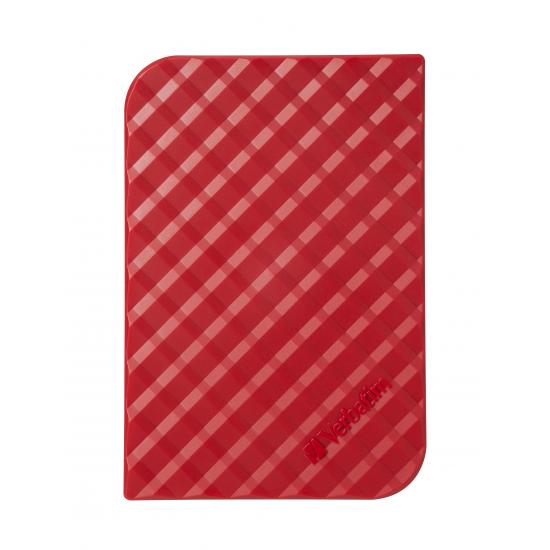 Verbatim Portables Festplattenlaufwerk Store 'n' Go USB 3.0, 1 TB - Rot