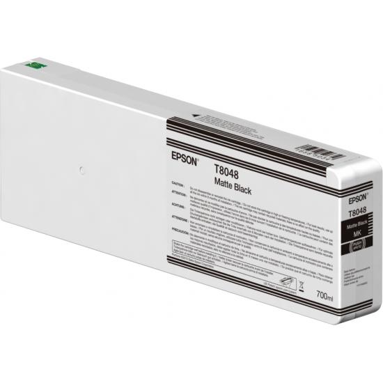Epson Singlepack Matte Black T804800 UltraChrome HDX/HD 700ml
