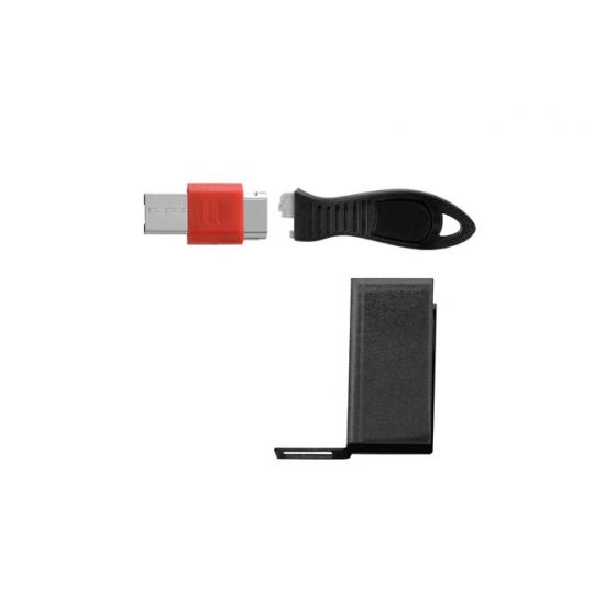 Kensington USB-Port-Schloss mit Schutzabdeckung