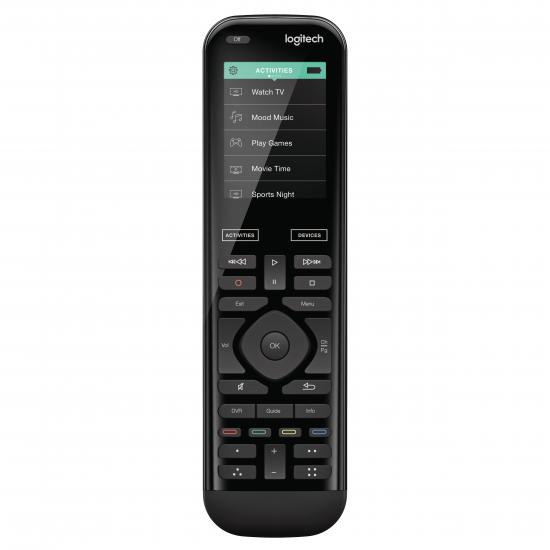 Logitech Harmony 950 Fernbedienung IR Wireless Audio, DVD/Blu-ray, DVR, Heimkinosystem, PC, SAT, Smartphone, Tablet Berührungsbildschrim