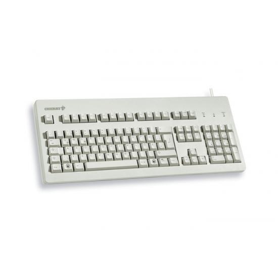 CHERRY G80-3000 Tastatur USB QWERTY US Englisch Grau