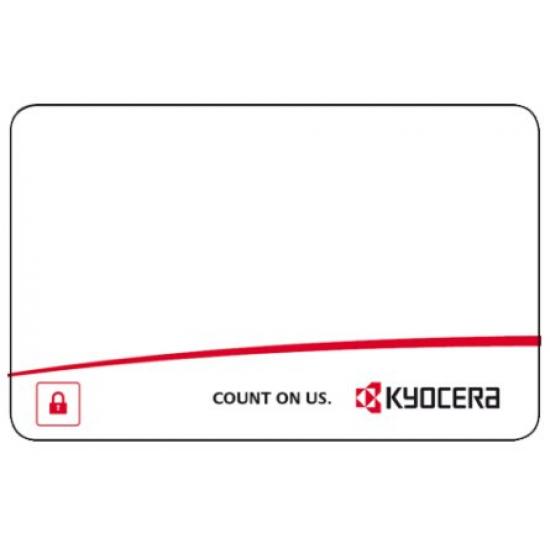 KYOCERA 870LS95025 Blanko-Plastikkarte
