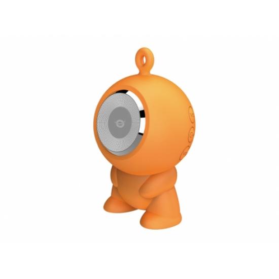 Conceptronic CSPKBTWPHFO Tragbarer Lautsprecher 3 W Orange