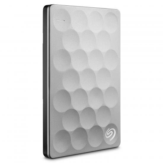Seagate Backup Plus Ultra Slim Externe Festplatte 2000 GB Platin
