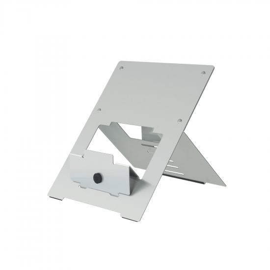 R-Go Tools R-Go Riser Flexibel Laptopständer, verstellbar, silber