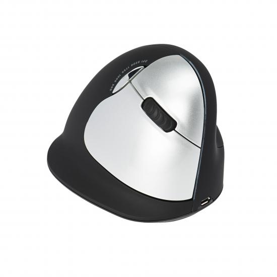 R-Go Tools R-Go HE Mouse, Ergonomische Maus, Groß (Handlänge über 185mm), rechtshändig, drahtlose