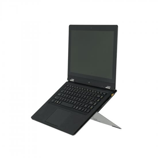 R-Go Tools R-Go Riser Attachable Laptopständer, verstellbar, silber