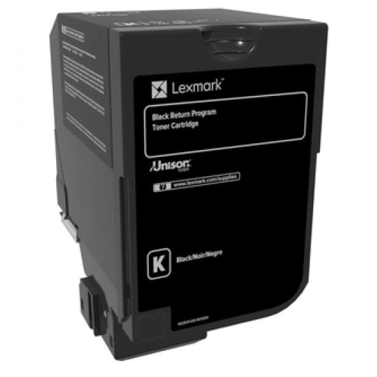 Lexmark 74C20K0 Tonerkartusche 1 Stück(e) Original Schwarz
