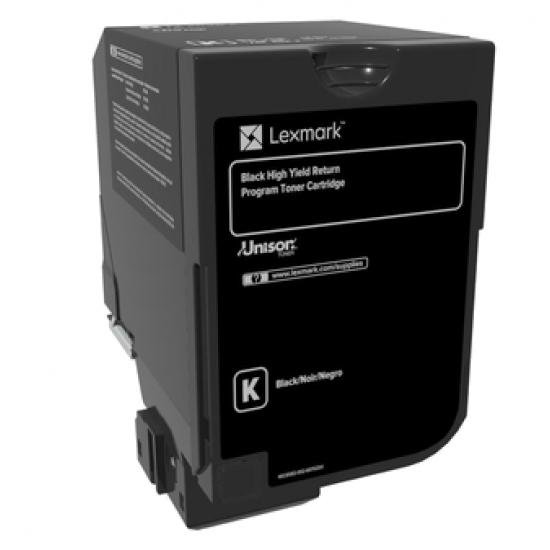Lexmark 74C2HK0 Tonerkartusche 1 Stück(e) Original Schwarz