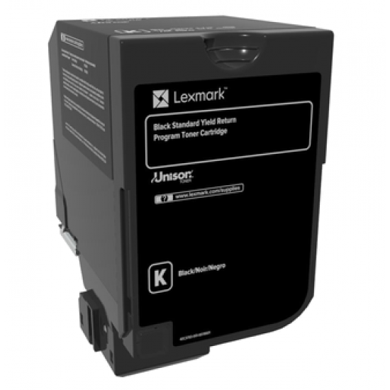 Lexmark 74C2SK0 Tonerkartusche 1 Stück(e) Original Schwarz