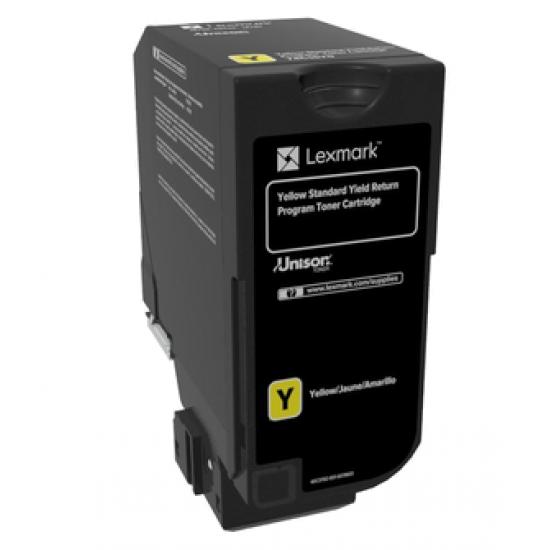 Lexmark 74C2SY0 Tonerkartusche 1 Stück(e) Original Gelb