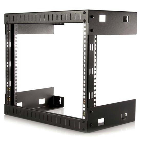 "StarTech.com 8HE 19"" Open Frame Geräte Rack Wandmontagefähig - 30cm Tief"