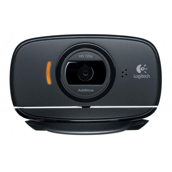 Logitech C525 Webcam 8 MP 1280 x 720 Pixel USB 2.0 Schwarz