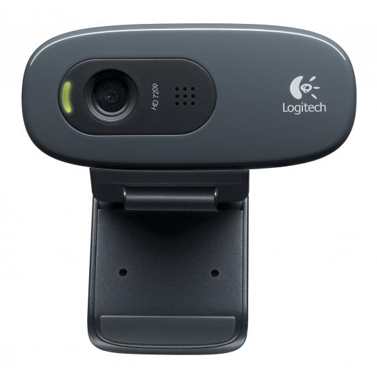 Logitech C270 Webcam 3 MP 1280 x 720 Pixel USB 2.0 Schwarz