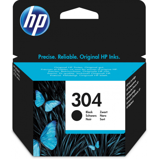 HP 304 Original Schwarz