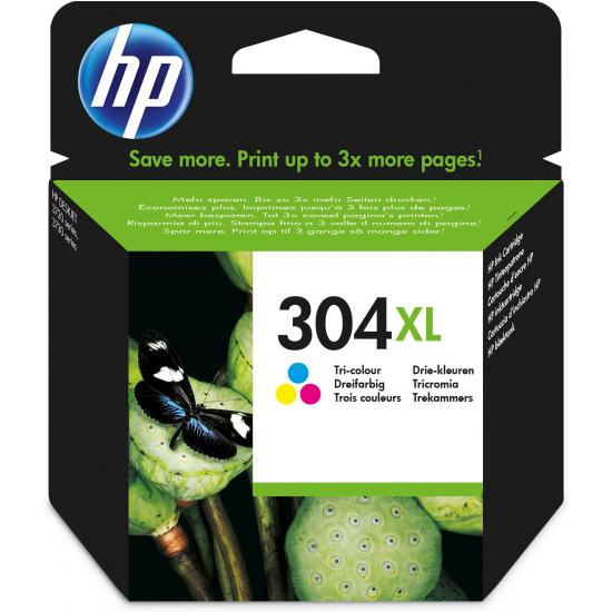 HP 304XL Original Cyan, Magenta, Gelb