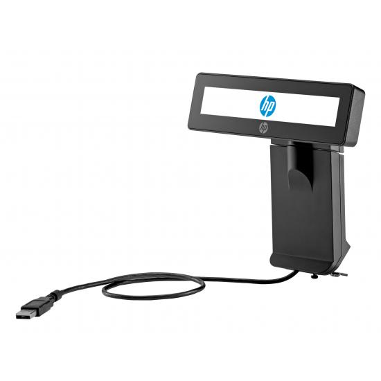 HP Integriertes RP9 2x20-Display, oben, mit Arm