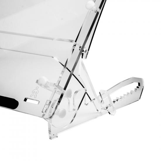 R-Go Tools R-Go Flex Dokumentenhalter, Mittel, verstellbar, transparent