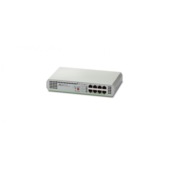 Allied Telesis AT-GS910/8-50 Unmanaged Gigabit Ethernet (10/100/1000) Grau