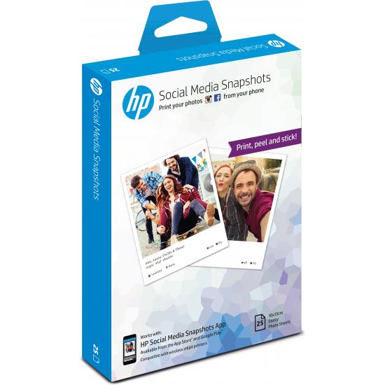 HP W2G60A Fotopapier Weiß Halb-Glanz
