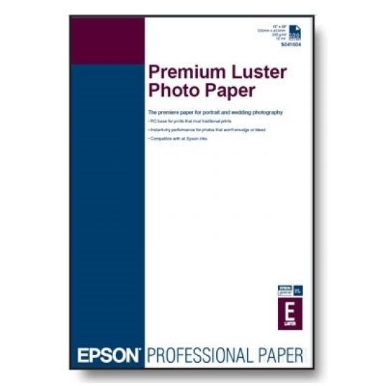 Epson Premium Luster Photo Paper, DIN A4, 250 g/m²