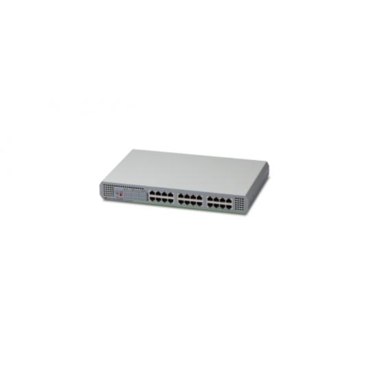 Allied Telesis AT-GS910/24-50 Unmanaged Gigabit Ethernet (10/100/1000) Grau