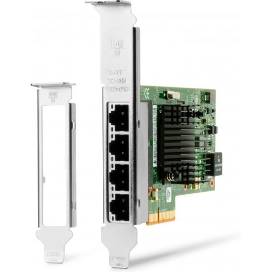HP Intel Ethernet I350-T4 NIC, vier Anschlüsse, 1 Gbit