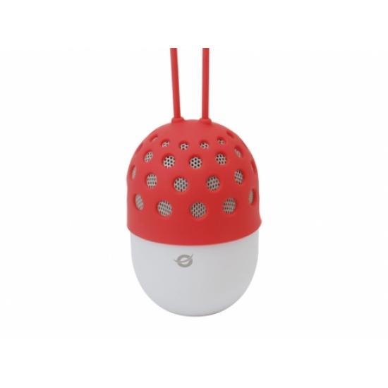 Conceptronic CSPKBTWPHLR Tragbarer Lautsprecher 3 W Rot, Weiß