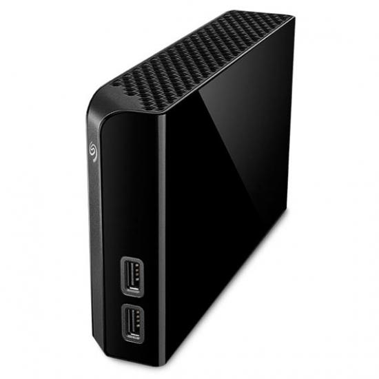 Seagate Backup Plus Hub Externe Festplatte 4000 GB Schwarz