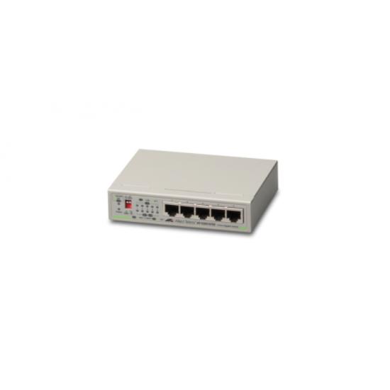 Allied Telesis AT-GS910/5E-50 Unmanaged Gigabit Ethernet (10/100/1000) Grau