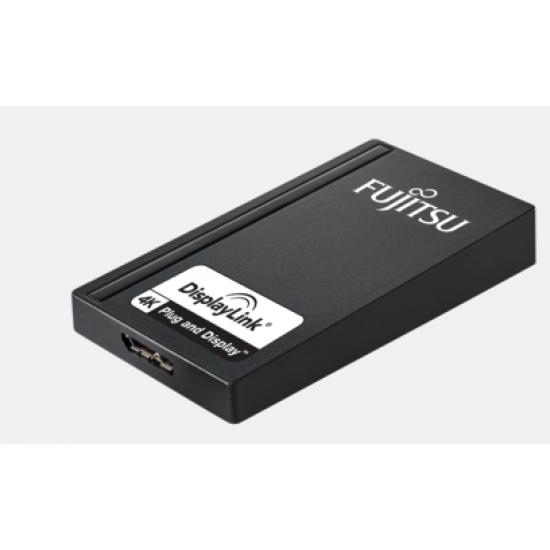 Fujitsu S26391-F6099-L500 USB-Grafikadapter 3840 x 2160 Pixel Schwarz