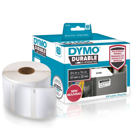 DYMO LW - Hochleistungsetiketten / Durable - 32 x 57 mm - 1933084