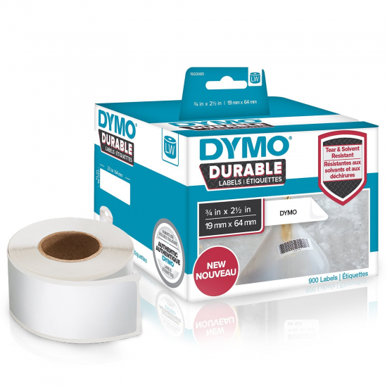 DYMO LW - Hochleistungsetiketten / Durable - 19 x 64 mm - 1933085