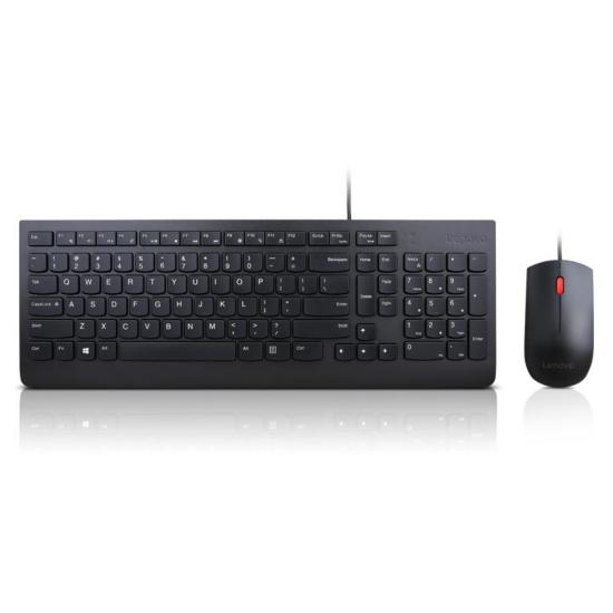 Lenovo 4X30L79883 Tastatur USB QWERTY US Englisch Schwarz