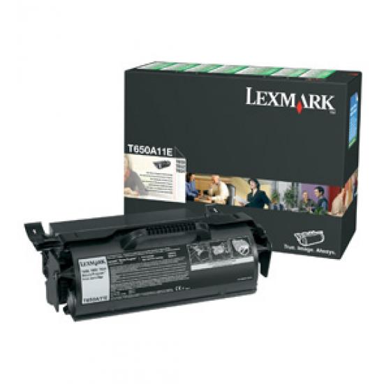 Lexmark T650A11E Tonerkartusche 1 Stück(e) Original Schwarz