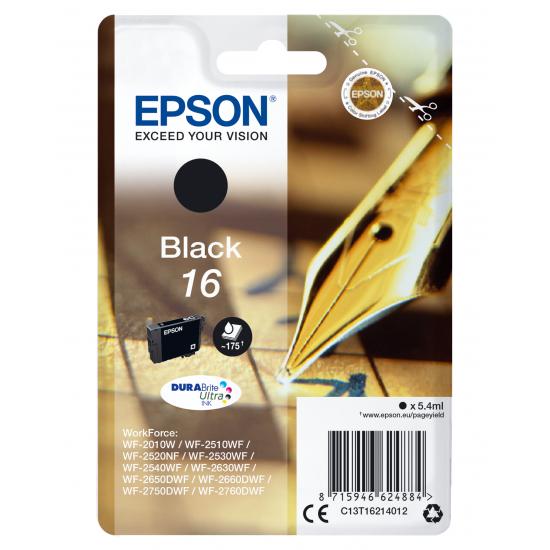 Epson Pen and crossword Singlepack Black 16 DURABrite Ultra Ink