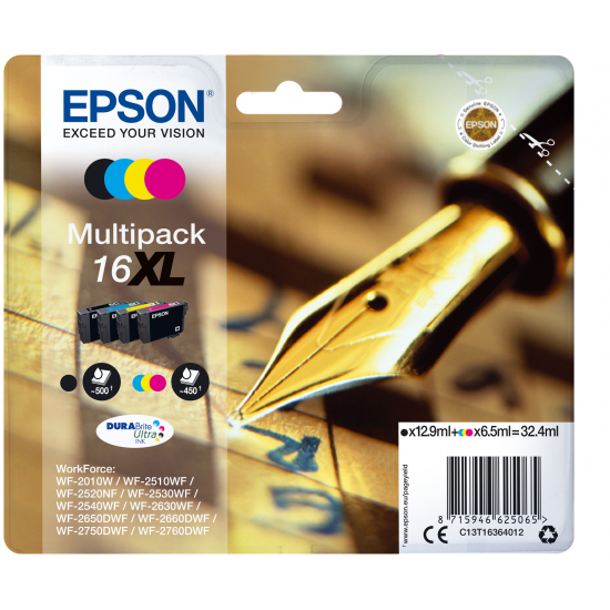 Epson Pen and crossword Multipack 16XL DURABrite Ultra Ink
