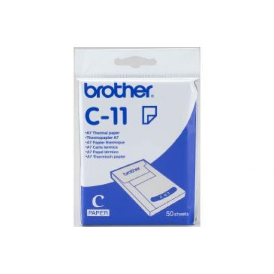 Brother C-11 Thermopapier A7
