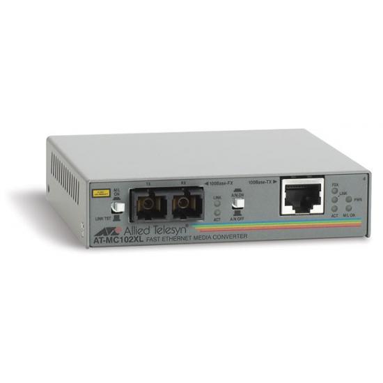 Allied Telesis AT-MC102XL Netzwerk Medienkonverter 100 Mbit/s