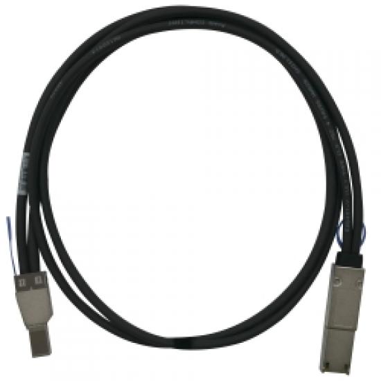 QNAP CAB-SAS05M-8644-8088 Serial Attached SCSI (SAS)-Kabel 1 m Schwarz
