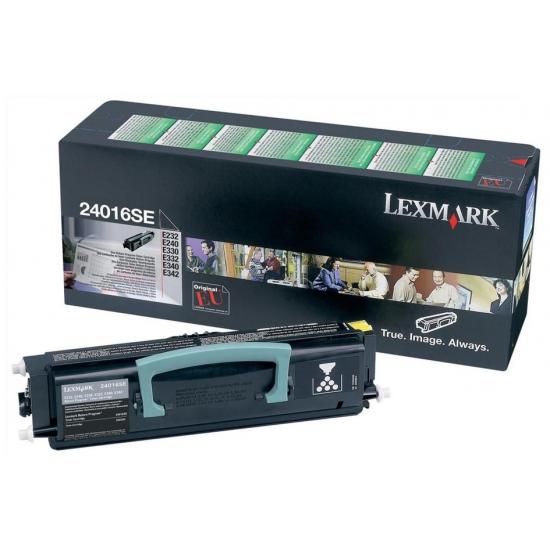Lexmark 24016SE Tonerkartusche 1 Stück(e) Original Schwarz