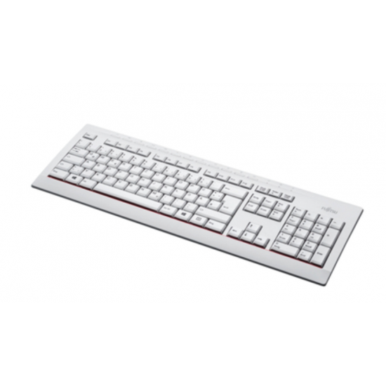 Fujitsu KB521 Tastatur USB Grau