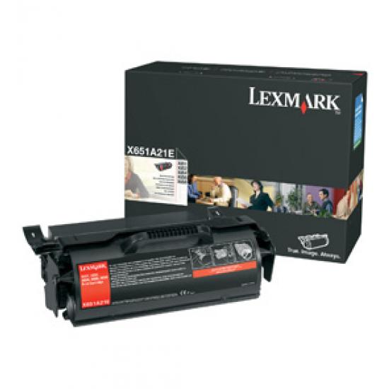 Lexmark X651A21E 1 Stück(e) Original Schwarz
