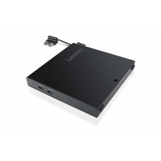 Lenovo 4XH0N06924 Notebook-Dockingstation & Portreplikator Verkabelt USB 2.0 Schwarz
