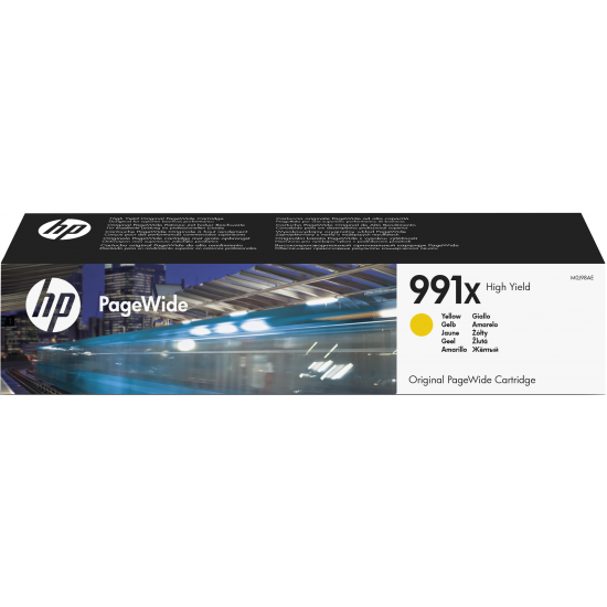 HP 991X 1 Stück(e) Original Hohe (XL-) Ausbeute Gelb