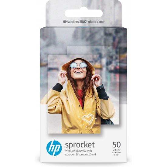HP ZINK Sticky-backed Fotopapier Glanz