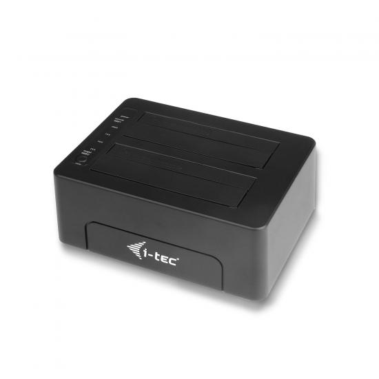 "i-tec USB 3.0 Docking Station für 2.5""/3.5"" SATA I/II/III HDD SSD"